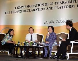 Thành tựu và thách thức sau 20 năm thực hiện Cương lĩnh hành động Bắc Kinh