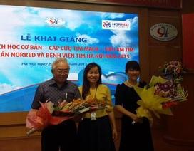 Bệnh viện Tim Hà Nội: Đào tạo chuyển giao kỹ thuật tim mạch cơ bản
