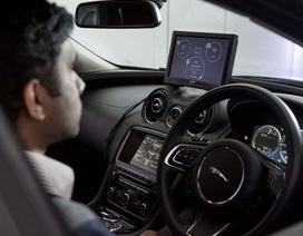 """Jarguar Land Rover """"khoe"""" công nghệ đọc suy nghĩ tài xế"""