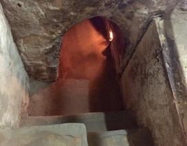 """Thăm đường hầm kỳ diệu ẩn dưới lớp đất """"cứng rắn lạ thường"""""""