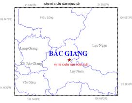 Động đất nhẹ tại Bắc Giang