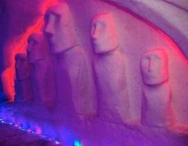 Bảo tàng băng tuyết độc đáo ở Nga