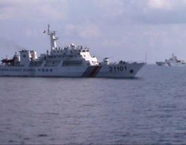 """""""Trung Quốc điều thêm tàu hộ vệ tên lửa ra giàn khoan"""""""