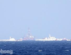 Tàu Việt Nam tiến sâu, tàu Trung Quốc ra sức cản phá