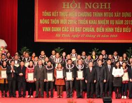 Hà Tĩnh: Không còn xã dưới 5 tiêu chí nông thôn mới