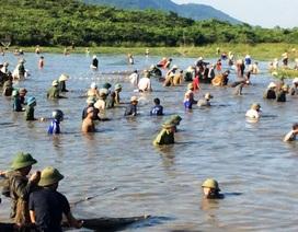 Về Xuân Viên xem lễ hội Đánh cá Đồng Hoa