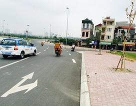 Dân bất bình vì nút giao đường dẫn cầu Nhật Tân gấp khúc bất thường