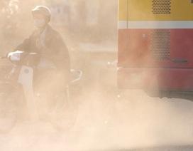 Ô nhiễm bụi ở Hà Nội tăng cao nhiều ngày qua