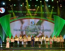 Phóng viên Dân trí đoạt Giải báo chí về tài nguyên và môi trường