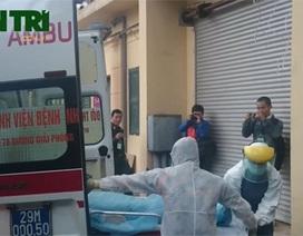 Diễn tập tiếp nhận ca nghi mắc Ebola tại Bệnh viện Nhiệt đới trung ương