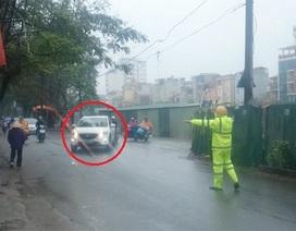 Xử phạt hàng loạt xe ô tô đi vào đường cấm