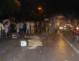 Hà Nội: Nữ sinh lớp 12 chết thảm dưới bánh xe container