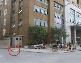 Hà Nội: Rơi từ tầng 29, 1 phụ nữ chết thảm