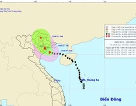 Bão số 1 đang hướng thẳng vào Quảng Ninh - Thái Bình
