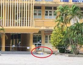Rơi từ tầng 4 của  tòa nhà, một phụ nữ tử vong