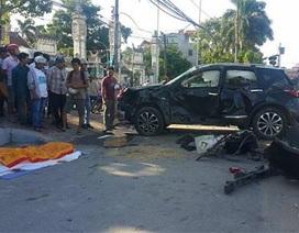 Hà Nội: Tàu hỏa tông ô tô, 1 phụ nữ bay khỏi xe tử vong