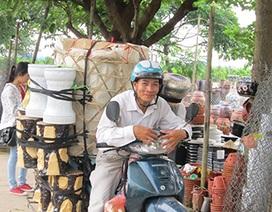 Lặng lẽ chợ gốm ven sông Hồng