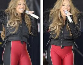 Mariah Carey bị chê vì mặc quần bó sát