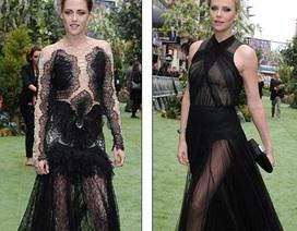 """Choáng"" với váy voan của Kristen Stewart, Charlize Theron"