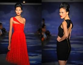 Hoàng Thùy, Tuyết Lan đọ sắc với váy dạ hội
