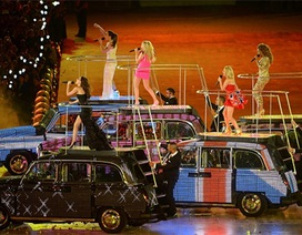 Spice Girls nổi lửa tại lễ bế mạc Olympics