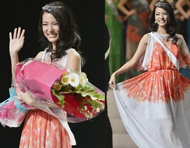 Vẻ thanh lịch của tân Hoa hậu Nhật Bản