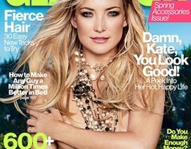Kate Hudson bất ngờ bán khỏa thân trên bìa tạp chí