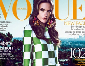 Alessandra Ambrosio tái xuất trên Vogue