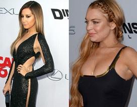 """Ashley Tisdale """"đọ dáng"""" Lindsay Lohan"""