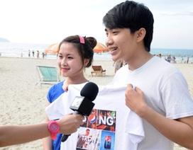 """VJ Kaylee và MTV Now """"đột kích"""" biển Đà Nẵng"""