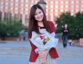 Hương Tràm tươi tắn trong chuyến lưu diễn tại Nga