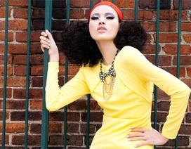 Tuyết Lan xuất hiện trên tạp chí thời trang quốc tế