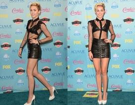 Miley Cyrus khoe chân nuột nà tại Teen Choice Awards