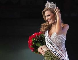 Vẻ đẹp hoàn hảo của tân Hoa hậu Venezuela