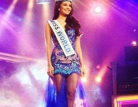 Hoa hậu thế giới diện váy voan quyến rũ