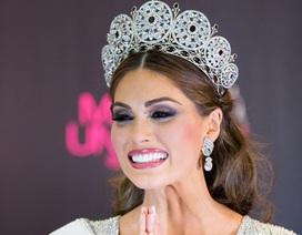 Ngắm nhan sắc lộng lẫy của tân Hoa hậu hoàn vũ
