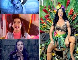 """Katy Perry """"biến ảo"""" liên tục trong các MV"""