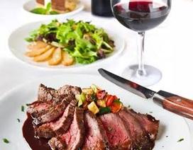 Thưởng thức Buffet Steak 188.000 đồng tại nhà hàng Mango Steak trúng iPhone 5S Gold