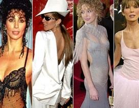 Những bộ váy áo xấu nhất từng xuất hiện trên thảm đỏ Oscar