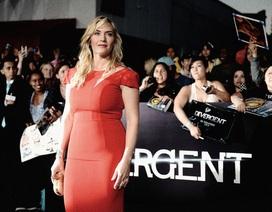 Kate Winslet tái xuất rực rỡ sau khi sinh con 3 tháng