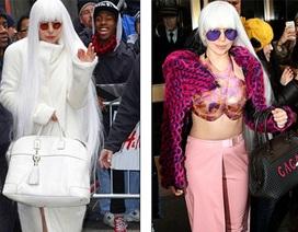 Lady Gaga kỳ dị ra phố