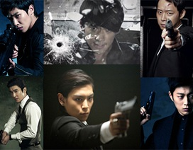 """""""Mỹ nam"""" xứ Hàn xuất hiện trong loạt phim """"bom tấn"""""""