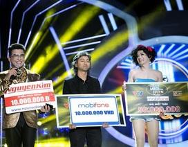 Minh Thuận - Hoài Lâm cùng chiến thắng trong show 3 Gương mặt thân quen