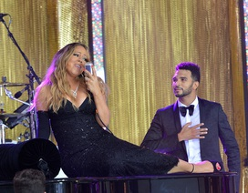 """Mariah Carey """"lộ"""" thân hình nặng nề"""