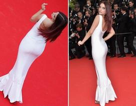 Siêu mẫu sinh năm 1993 đẹp mê hồn trên thảm đỏ LHP Cannes