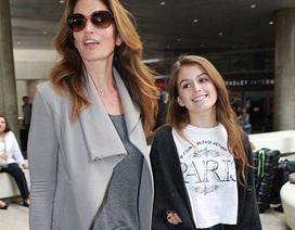 Con gái Cindy Crawford càng lớn càng xinh đẹp