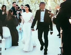 Hé lộ những hình ảnh đầu tiên trong đám cưới cô Kim