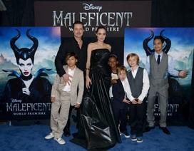 Angelina Jolie đưa các con cùng dự công chiếu phim