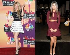 Shakira trẻ đẹp không kém Selena Gomez