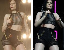 Jessie J khoe chân thẳng tắp